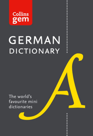 Collins Gem German Dictionary by Dictionaries Collins