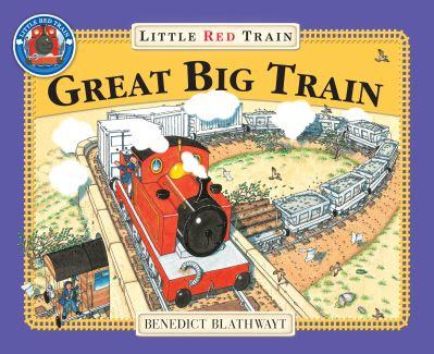 Great Big Little Red Train by Benedict Blathwayt