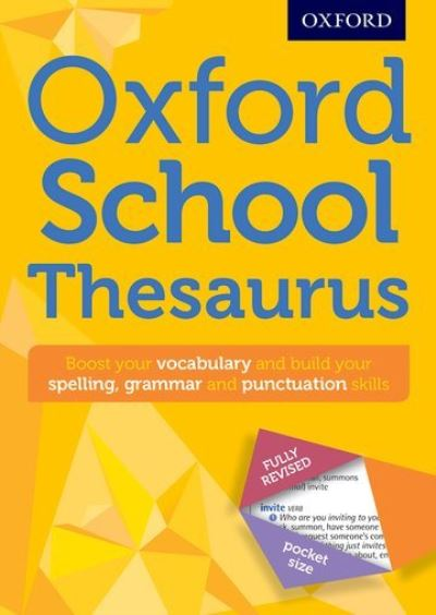 Oxford School Thesaurus by