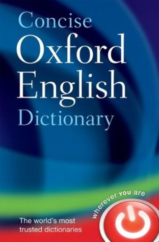 Concise Oxford English Dictionary 12th by  ,