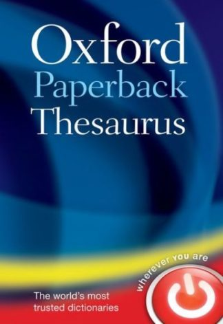 Oxford Paperback Thesaurus (4 r.e.) by