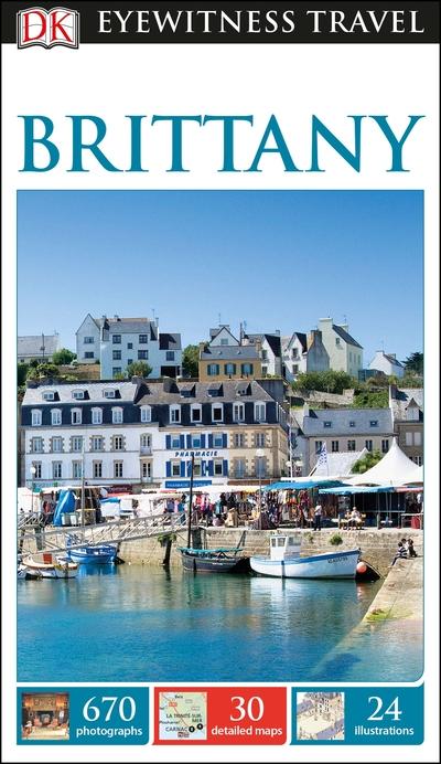 DK Eyewitness Travel Guide Brittany by  DK