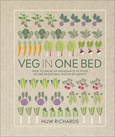 Veg In A Bed by Huw Richards