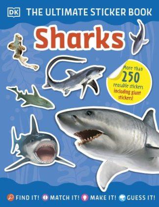 Ultimate Sticker Book Sharks by  DK