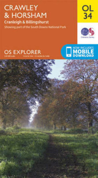 EXP OL34 Crawley & Horsham, Cranleigh & Billingshurst by