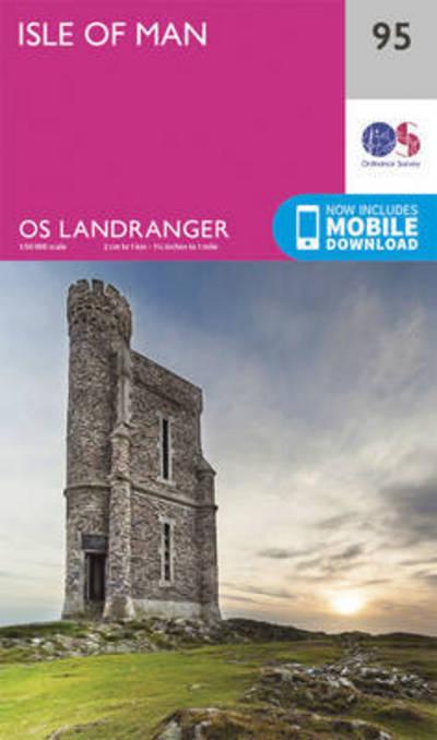 Isle of Man by Survey Ordnance