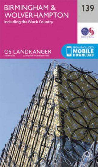 Birmingham & Wolverhampton by Survey Ordnance