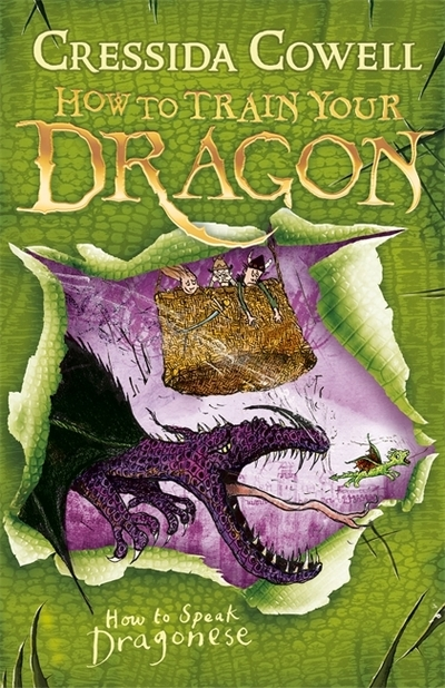 Hiccup How To Speak Dragonese (3) by Cressida Cowell