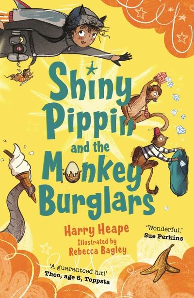 Shiny Pippin and the Monkey Burglars (CSR18) by Harry Heape