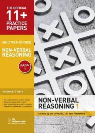 11+ Practice Papers, Non-verbal Reasoning Pack 1 (MC) by