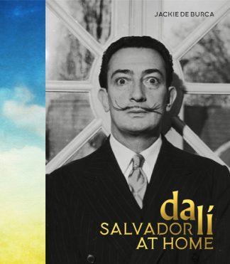 Salvador Dali at Home by Burca, Jackie De