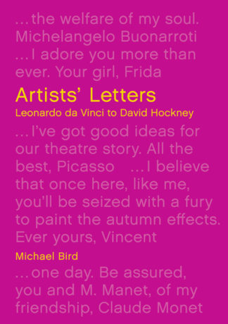 Artists Letters by Michael Bird