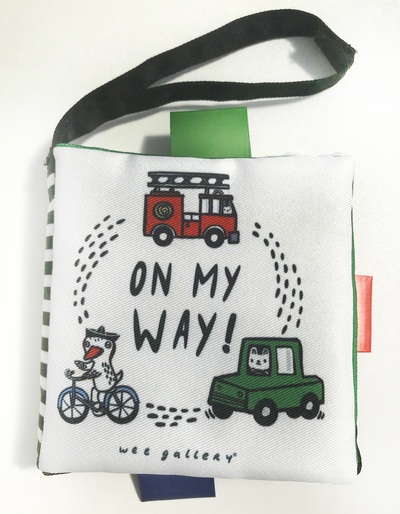 Wee Gallery Buggy Books: On My Way by Surya Sajnani