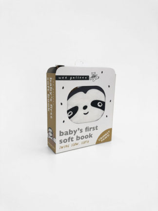 Wee Gallery Cloth Books: Swing Slow, Sloth by Surya Sajnani