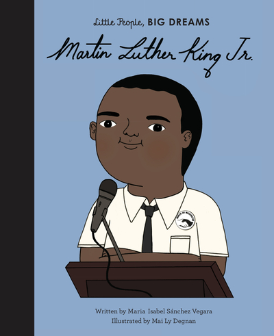 Martin Luther King, Jr. by Vegara, Maria I Sanchez