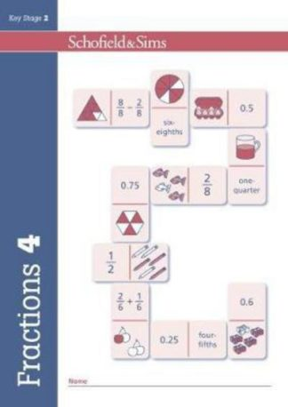 Fractions, Decimals and Percentages Book 4 (Year 4, Ages 8-9) by & Sims Schofield