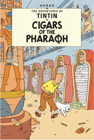 Tintin Cigars Of Paraoh by  Herge