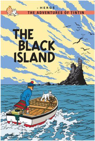The Black Island (Tintin) by  Herge