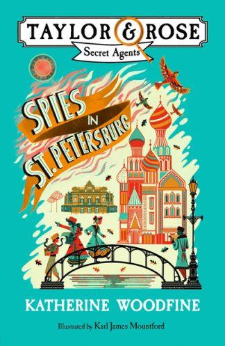 Spies In St Petersburg by Katherine Woodfine