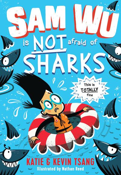 Sam Wu Is NOT Afraid Of Sharks! by Kevin Tsang
