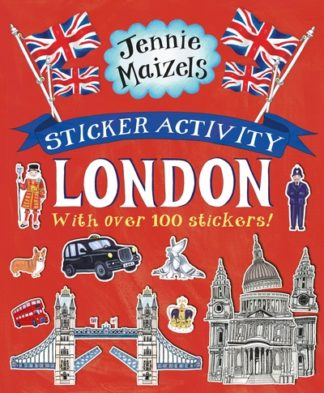 Sticker Activity London by Jennie Maizels