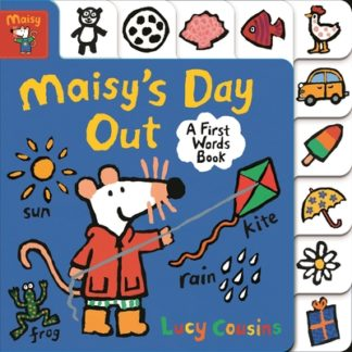 Maisy's Day Out: A First Words Book by Lucy Cousins