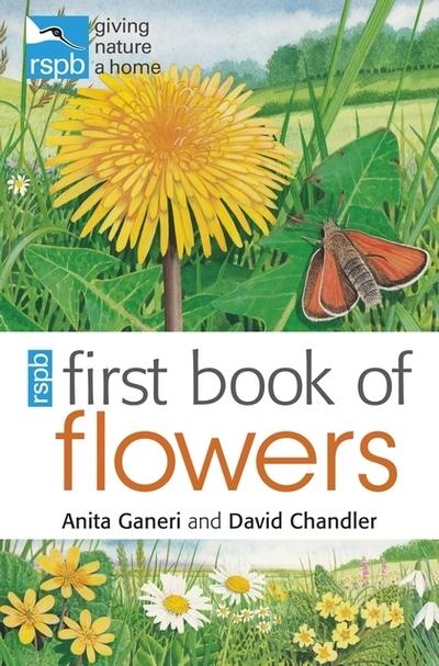 RSPB First Book of Flowers by Anita Ganeri