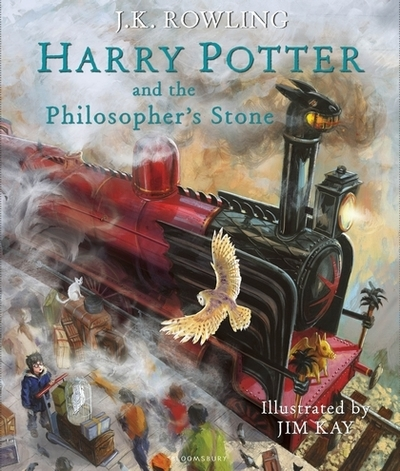 Harry Potter and the Philosopher's Stone: Illustrated Edition by J. K. Rowling