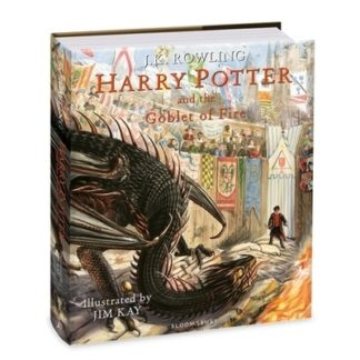 Harry Potter and the Goblet of Fire: Illustrated Edition by J. K. Rowling