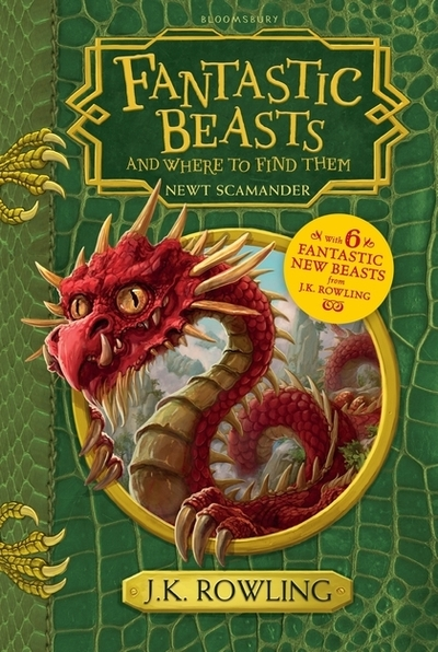 Fantastic Beasts and Where to Find Them: Hogwarts Library Book by J. K. Rowling