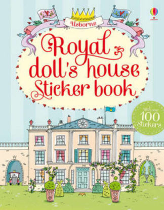 Royal Dolls House Sticker Book by  ,