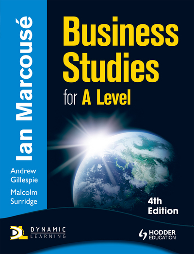 Business Studies for A-level by Ian Marcouse