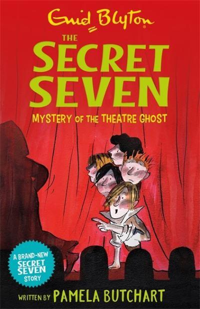 Secret Seven Mystery Of Theatre Ghost by Pamela Butchart