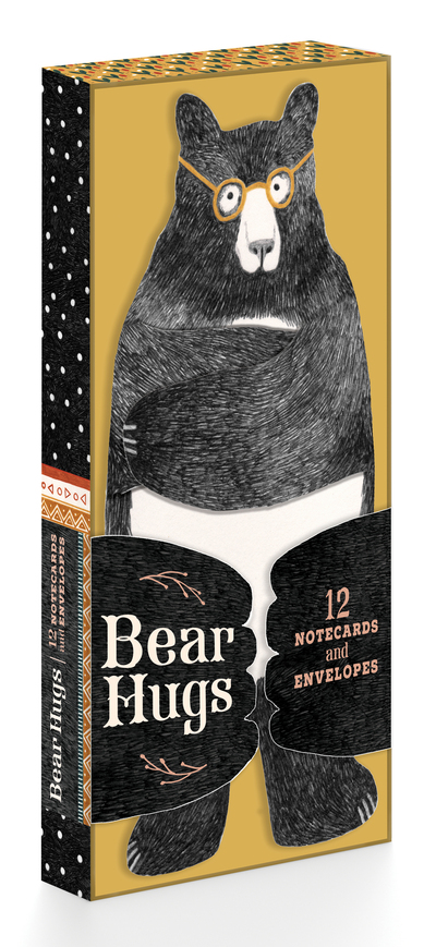 Bear Hugs: 12 Notecards and Envelopes by