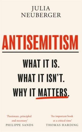 Antisemitism by Julia Neuberger