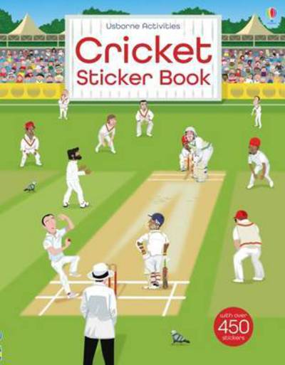 Cricket Sticker Book by Emily Bone