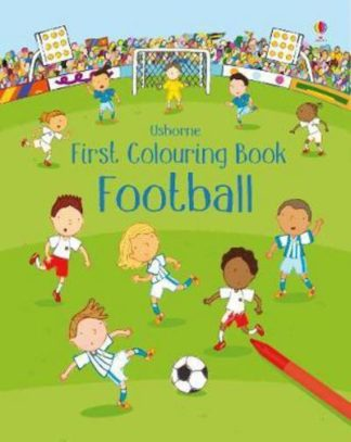 First Colouring Book Football by Sam Taplin