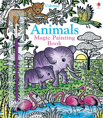 Magic Painting Animals by  ,