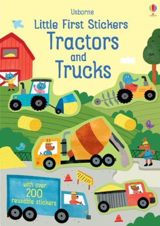 Little First Stickers Tractors Trucks by Hannah Watson
