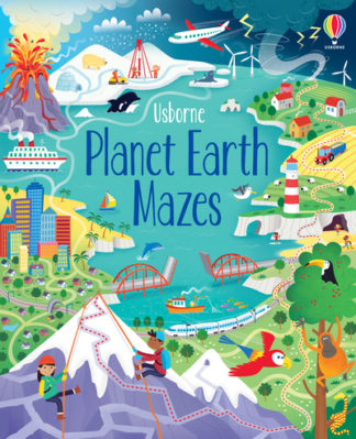 Planet Earth Mazes by Sam Smith