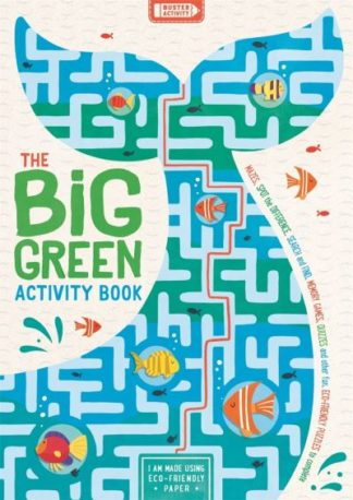 The Big Green Activity Book: Mazes, Spot the Difference, Search and Find, Memory by John Bigwood