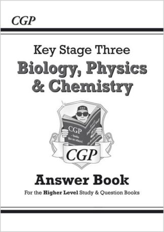 KS3 Science Answers for Study & Question Books (Biology/Chemistry/Physics), with by Books CGP