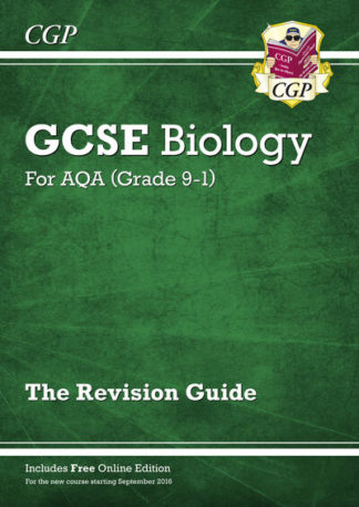 New Grade 9-1 GCSE Biology: AQA Revision Guide with Online Edition by Books CGP