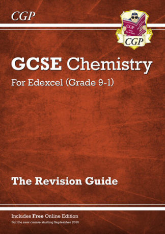 New Grade 9-1 GCSE Chemistry: Edexcel Revision Guide with Online Edition by Books CGP