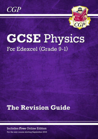 New Grade 9-1 GCSE Physics: Edexcel Revision Guide with Online Edition by Books CGP