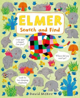 Elmer Search and Find by David McKee