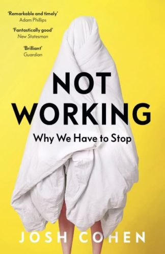Not Working: Why We Have to Stop by Josh Cohen