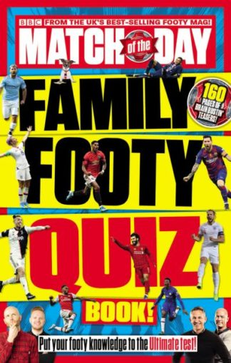 Match of the Day Family Footy Quiz Book by