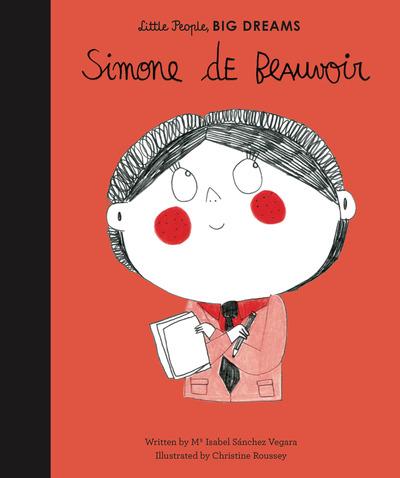 Simone de Beauvoir by Vegara, Isabel Sanchez