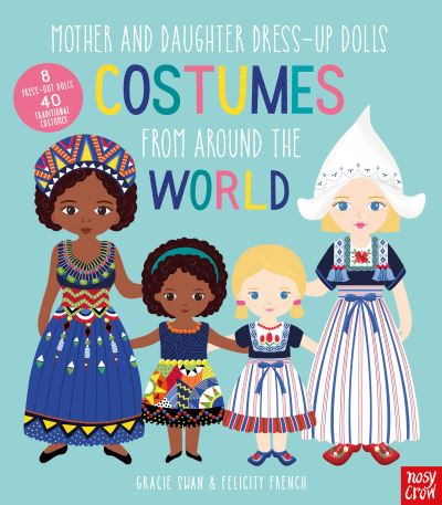 Mother & Daughter Dress-Up Dolls Costume by Felicity French